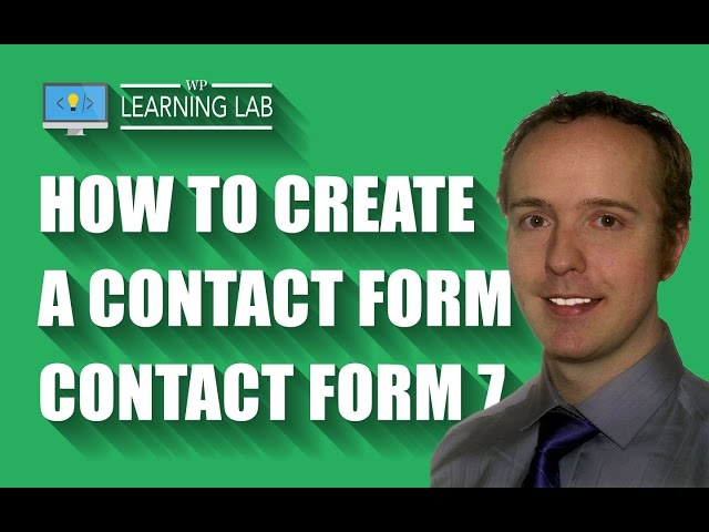 how to create contact form plugin in wordpress