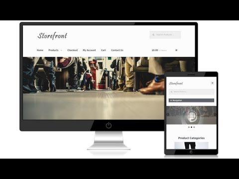 How To Make An Ecommerce Website Storefront Wordpress Theme