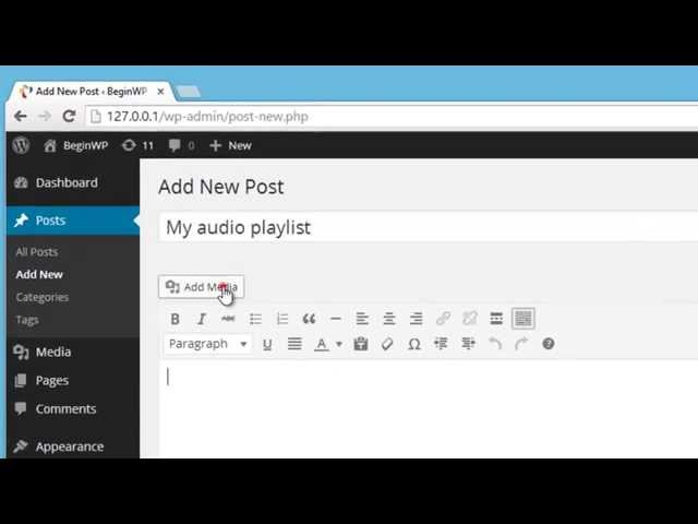 How To Create Audio And Video Playlist In WordPress (Tutorial)