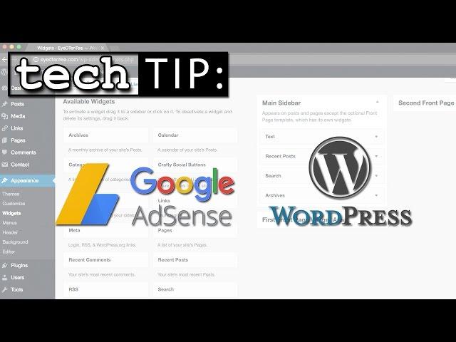 No More Google AdSense Plugin For WordPress? - Tutorial On How To Add  AdSense Ads To Website
