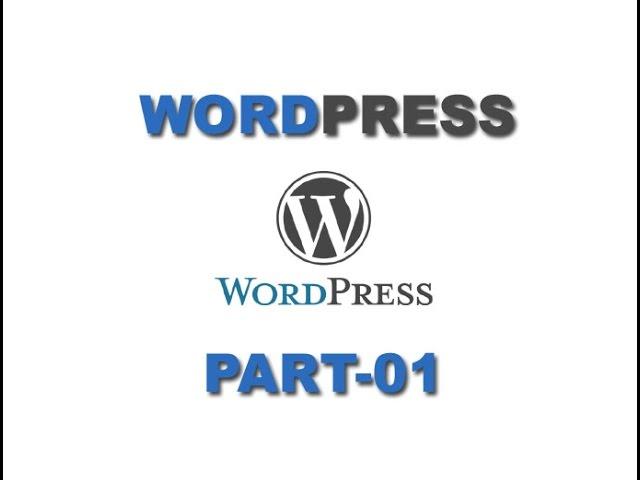 Wordpress Tutorial In Telugu Part 1