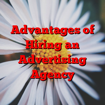 Advantages of Hiring an Advertising Agency